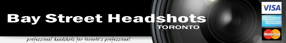 Bay Street Headshots | Best professional headshot photographer in Toronto logo